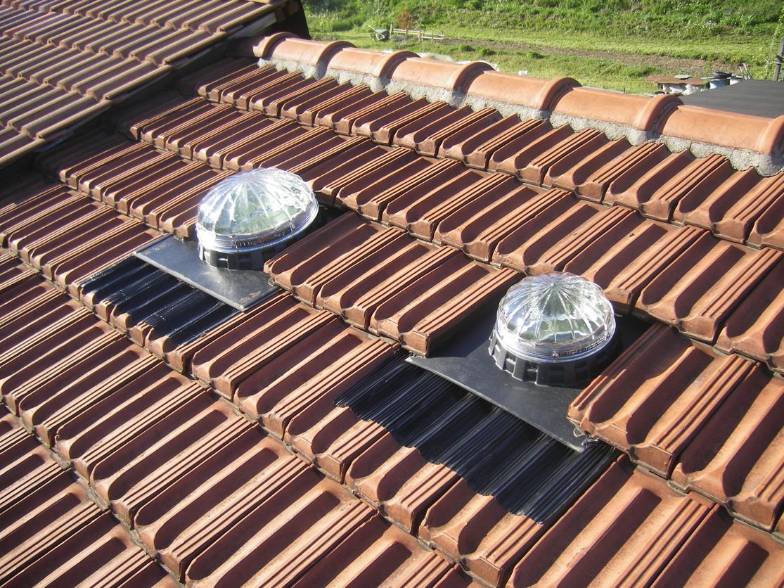 Lucernari solari lucernari tubolari tunnel di luce lightway for Piani di luce biliardo